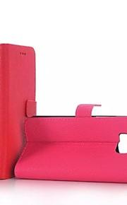 HTC 하나 (M9) - PU가죽 - 전체 바디 케이스 - 한색상/특별 디자인 - 케이스 커버