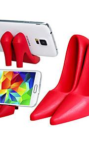 Supporto ad alta tacco scarpe progettazione silicone tablet pc cellulare (colori assortiti)