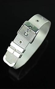 moda pulseira de prata 925 - prata
