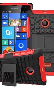 cubierta de la caja - Microsoft Lumia 435 - Plástico/TPU - Cubierta Trasera - Puntos Redondos/Diseño Especial/Novedades -