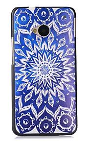 용 HTC케이스 패턴 케이스 뒷면 커버 케이스 꽃장식 하드 PC HTC