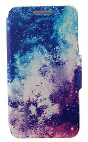 kinston® le motif de façon cuir PU couverture complète du corps laiteux avec support pour HTC Desire yeux / M910