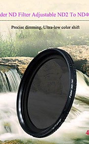 tianya® 40.5mm fader nd filtrere justerbar ND2 at nd400 neutral tæthed filter til sony A6000 a5100 nex-5t nex5r 16-50mm