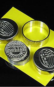 adereços mágicos voando moedas