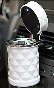 Diamond Section ABS witn Led Light Ashtray for Car