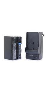 BP-955+charger - Li-ion - Batterij - voor for Canon G10 G10Hi G1000 DM-MV1 DM-MV10  E1 E2 E30  ES300V ES4000 ES410V - 7.4V - ( V ) -