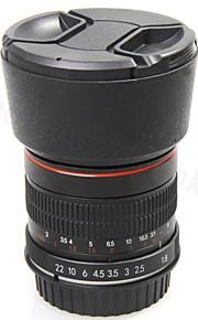 fast fokus 85mm f1.8 portræt linse til Canon mount manuel fokus