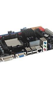 c68 micro atx socket AM2 / AM2 + / AM3 ddr2 / ddr3 ordenador placa base