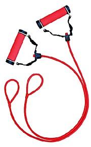ユニセックスのためのハンドルの内側に挿入さ1ポンド鋼棒とwinmax®プラスチック、ラテックス赤いチューブエキスパンダ
