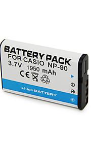 CNP-90 - Li-ion - Batterij - voorfor Casio Casio Exilim EX-H10, Casio Exilim EX-H15, Casio Exilim EX-H20G, Casio Exilim EX-FH100, Casio