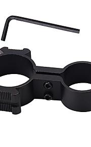 braçadeira lanterna tubo de uso múltiplo e pinça fixa (30-25mm)