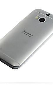 용 HTC케이스 울트라 씬 / 투명 케이스 뒷면 커버 케이스 단색 소프트 TPU HTC