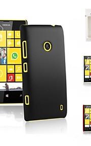 kemile híbrido de alta calidad tapa dura de plástico para Nokia Lumia 520 (colores surtidos)