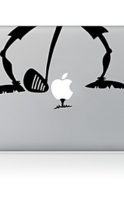 de golf ontwerp decoratieve huid sticker voor macbook air / pro / pro met retina-display