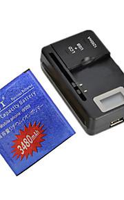 batería de repuesto - 3480 - Samsung - Samsung i9500 S4 - S4B - Sí - USA/USB -