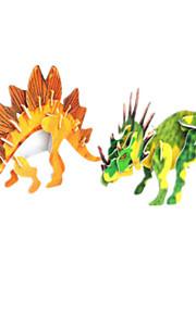3d dobbelt dinosaur puslespil (2 dinosaur)