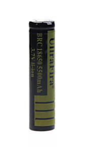 ullra fira 3.7V 5500mAh 18650 oplaadbare lithium-ion batterij (1st)