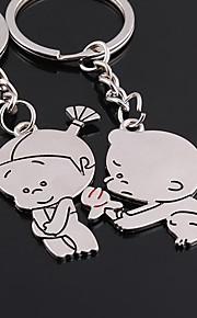 amor para sempre chave do casamento chaveiro anel para o dia dos namorados amante (um par)