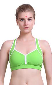 Qicaihongfeng Women's Fashion Yoga Suit Sleeveless Light Green/Light Gray Color