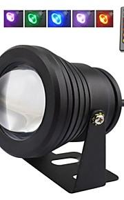 10 w RGB Black Lens Underwater Light Fountain Light (12V-24V)