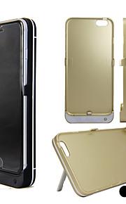5000mAh 5.0V + 0.2V dc batteri sak for iPhone 6 (assorterte farger)