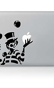 de tovenaar ontwerp decoratieve huid sticker voor macbook air / pro / pro met retina-display