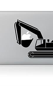 det en gravemaskin utforming dekorative hud klistremerke for MacBook Air / pro / pro med retina-skjerm
