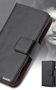 kemile nuevo tirón del cuero de la cubierta del caso del teléfono genuino para Nokia Lumia 520 n520 (colores surtidos)