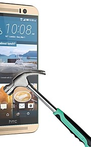 huyshe eenvoudig te installeren anti-kras waterdicht anti-fingerprint gehard glas screen protector voor de HTC One m9