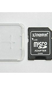 kingston originais classe digitais 64gb 10 micro SD eo cartão de memória e caixa de adaptador do cartão de memória