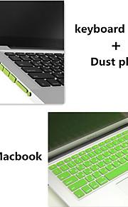 tastiera tpu vendita di copertura e di polvere tappi top per MacBook Air da 13.3 pollici (colori assortiti)