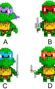 loz 4models / sat byggeklodser ninja skildpadder serie