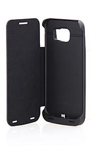 samsung S6 batteria clip di 4200 mah con la pelle