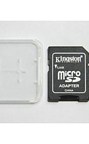 kingston digital de 8 gb classe 4 micro sd SDHC e cartão de memória e caixa de adaptador do cartão de memória