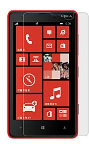 Protector de pantalla de alta definición para Nokia Lumia 820