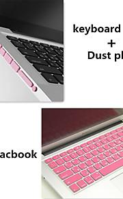 colore solido coperchio e polvere tastiera tpu tappi di alta qualità per macbook retina 13.3 pollici (colori assortiti)