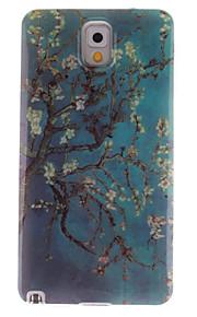 albicocca disegno fiore tpu IMD copertina morbida per la galassia nota 3