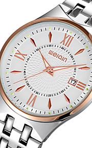moda strass ocasional relógios homens marca de luxo inoxidável relógio de quartzo relógio de pulso de aço ultrafino (cores sortidas)