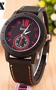 moda masculina dimand número de quartzo esportes analógicos pulseira relógio (cores sortidas)
