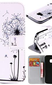 HTC 한 M9에 대한 카드 가방 전신 케이스와 몇 민들레 패턴