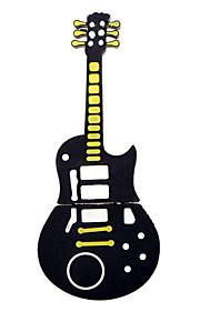 かわいい黒のギタースタイルのUSB 2.0フラッシュメモリスティックペン親指ドライブのストレージ2ギガバイト