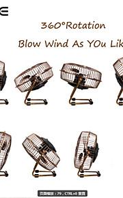 6 tommer bærbare usb mini plating bronze fan retro aluminium klinge desktop usb bronze elektrisk ventilator