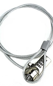 Security Combination Cable Lock for Laptop Notebook Silver 100CM