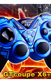 GTC® Wired DualShock Game Controller (USB port)Support PS3/ Win7/ Win8/ PC360
