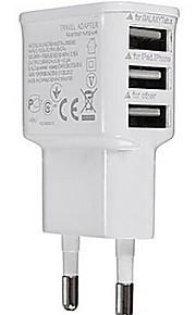 유니버설 플러그 UE 3 포트 carregador의 USB