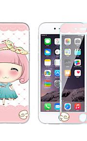 아이폰 6S에 대한 방폭 강화 유리 고화질 고전 스티커 / 6plus