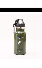 WEST BIKING® Portable Outdoor 350 Stainless Steel Sports Bottle Rriding Kettle Camouflage Insulation
