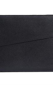 gearmax® ei-vetoketju naisten Miesten muoti PU nahka vedenpitävä kannettavan tietokoneen hihassa laukku MacBook Pro 15,4 Retina