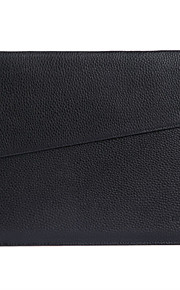 gearmax® no-glidelås kvinner menn mote PU lær vanntett futteral bag for MacBook Pro 15.4 med retina
