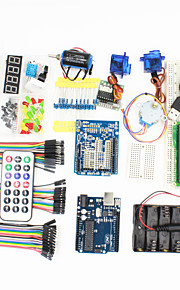 UNO R3 Starter Learning Kit for Arduino - (Works with Official Arduino Boards)